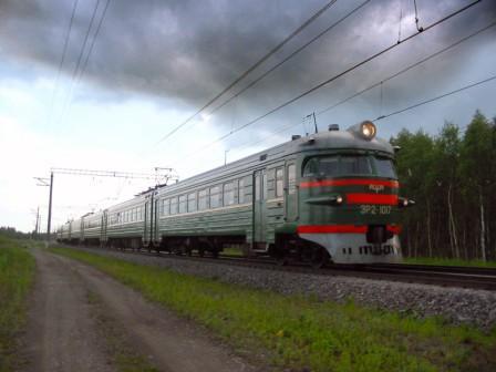 Пригородные поезда Санкт-Петебурга