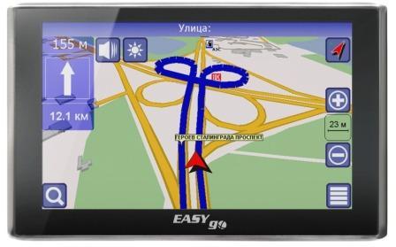 Автомобильная электроника: навигатор